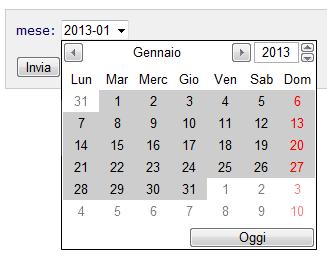esempio month