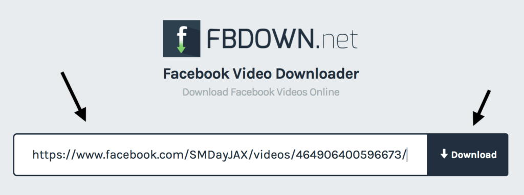 scaricare video da facebook con fbdown