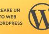 Creare un sito web wordpress